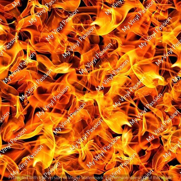 Fire Vinyl Flames Vinyl Custom Printed Fire Vinyl My