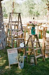 Rustic Wooden Ladder