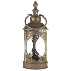 Antique Gold Metal Lantern