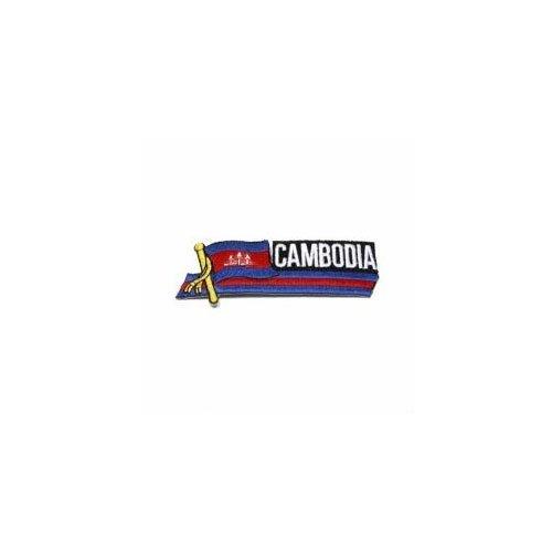 Cambodia Flag Patch