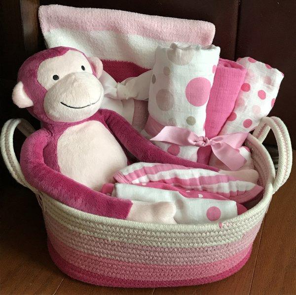 Madalyn monkey baby gift basket five brown monkies custom baby madalyn monkey baby gift basket negle Gallery