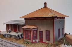 N&W Mahone Style Depot - HO Scale Craftsman KIT