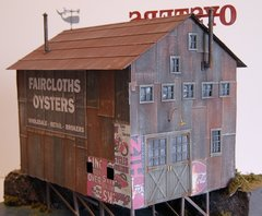 Faircloth's Oyster Processing - O Scale Craftsman KIT