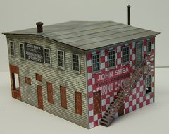 John Shea Building - O Scale Craftsman KIT