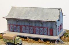 Western Maryland Standard W-14-A Freight House - HO Scale
