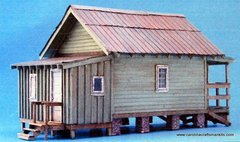Shotgun House - O/On30 Craftsman Kit - BACK IN STOCK!!