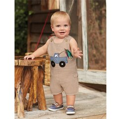 Mud Pie ~ Fish Shortall (1 pc) 0 - 9M