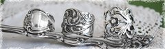 Silver Spoon Ring Collection