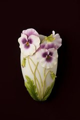 Ibis & Orchid ~ Wall Vases ~ Floral Collection