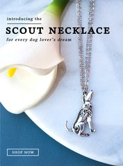 """Silver Spoon Animal Pendant NEW ~ """"Scout"""" the Dog"""