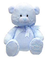 Cuddle Barn ~ My First Lullaby Teddy (Blue)