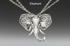 Silver Spoon Animal Pendant Collection