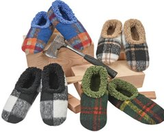 Snoozies for Men ~ Plush Plaids