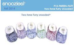 Snoozies for Tweens ~ Two tone furries