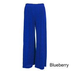 Slinky Travel Pants ~ Blues/Greens
