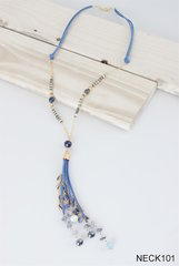 Simply Noelle Suede Tassel Necklace