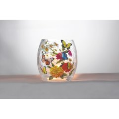 Stony Creek Lighted Vases ~ Butterflies