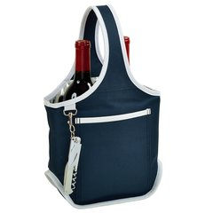Picnic at Ascot ~ Two Bottle Carrier