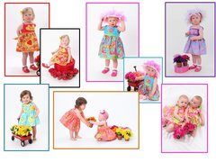 Matchaversibles ~ Infant thru Toddler Sun Dresses