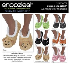 Snoozies for Ladies ~ Animal Slippers for Women