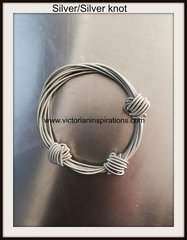 "Sea Lily Piano Wire ""Small Knot"" Collection ~ Bracelets"