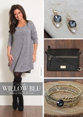 Simply Noelle Button Placket Knit Dress