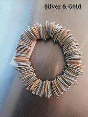Sea Lily  Piano Wire Bracelet (no pearl)