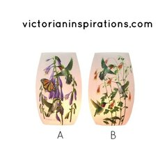 Stony Creek Lighted Vases ~ Hummingbirds