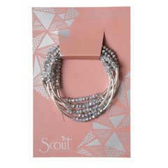 Scout ~ Bracelet - Necklace in one ~ Star/Silver