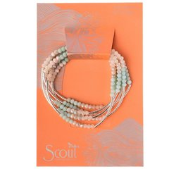 Scout ~ Bracelet - Necklace in one ~ Turquoise Combo/Silver