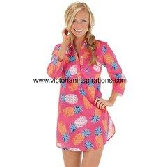 Kelli Shirtdress Cover Up