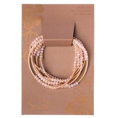 Scout ~ Bracelet - Necklace in one ~ Pink/Matte Rose Gold