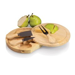 Brie Cheese Board by Picnic Time ~ Rubberwood