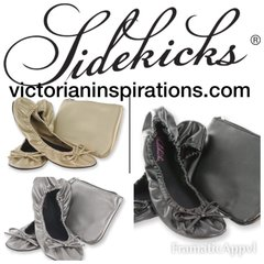 Sidekicks ~ Foldable patent flats