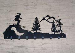 Skiing 7 Key Hook