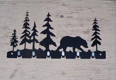 Bear with Trees 7 Key Hook