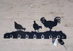 Chickens 7 Key Hook
