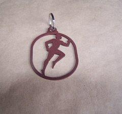 Man Running Key Ring