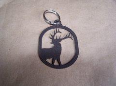 Elk Half Body Key Ring