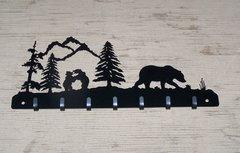 Bear Family 7 Key Hook