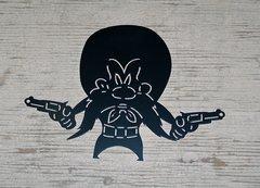 Yosemite Sam Wall Art