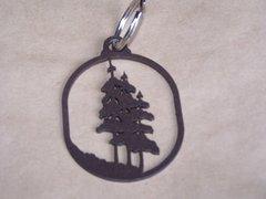 Trees Key Chain