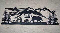 Bear Family 38'' Wall Art