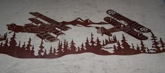Airplanes 60'' Wall Art