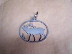 Elk Full Body Key Ring