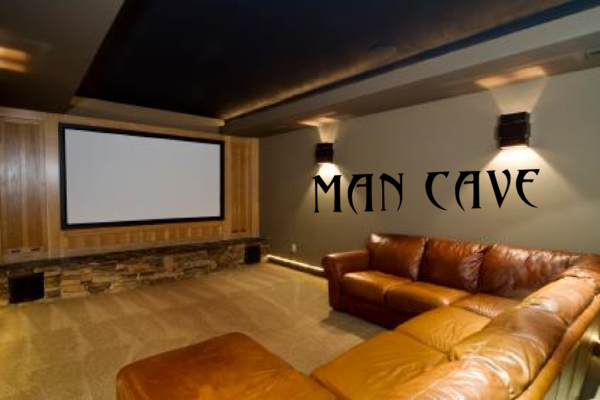 Man Cave Store Michigan City : Man cave wall decal michigan decals apparel
