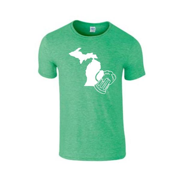 Michigan Beer T-Shirt - Beer City, USA - Michigan Shirt - Michigan Beer - Michigan Pride - MADE IN THE USA!