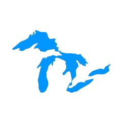Great Lakes Vinyl Car Decal - Great Lakes Decal - Great Lakes Sticker