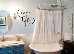 Love life Wall Decal