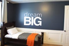 Dream Big Wall Decal - Dream Big Print Wall Decal